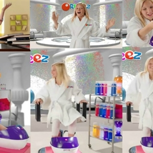 Kaylyn Slevin In Orbeez Spa Commercial
