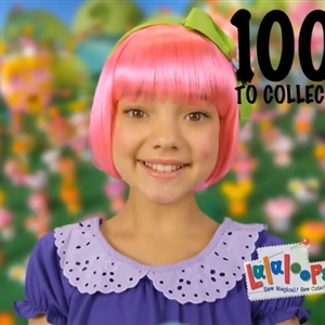 Ruby Snowber Smiling In Lalaloopsy Tinies Commercial