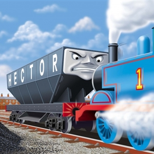 Thomas fight Monster