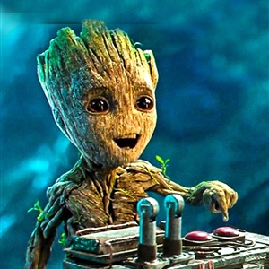 groot on the radio