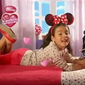 Meme Llacer In I Love Minnie Commercial