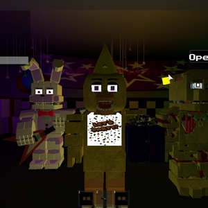 chica with her noob friends