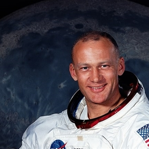 second man on moon. 90 percent of people dont know who he is