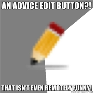 Precaptioned Edit Button