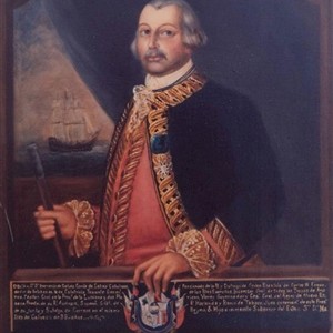 The Portrait of Bernado De Galvez