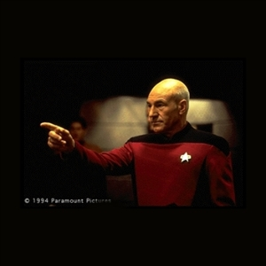 Make It so number one - Picard Point | Meme Generator