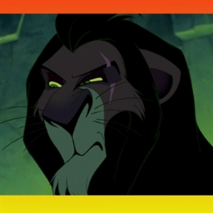 Unimpressed Scar (Lion King)