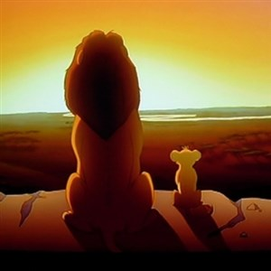 the lion king with son