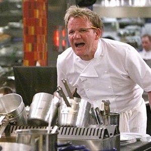 Gordon Ramsay Yelling damned loudly