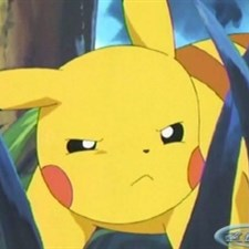 Unimpressed Pikachu