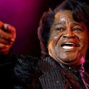 James Brown Pointing