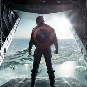 Captain America Back Shield