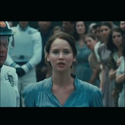 I volunteer as tribute Katniss