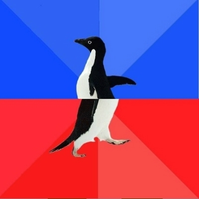 Socially Awkward to Awesome Penguin