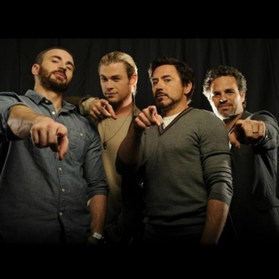 avengers pointing