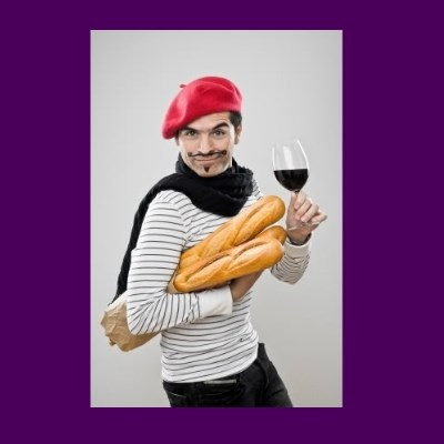 stereotypical french man