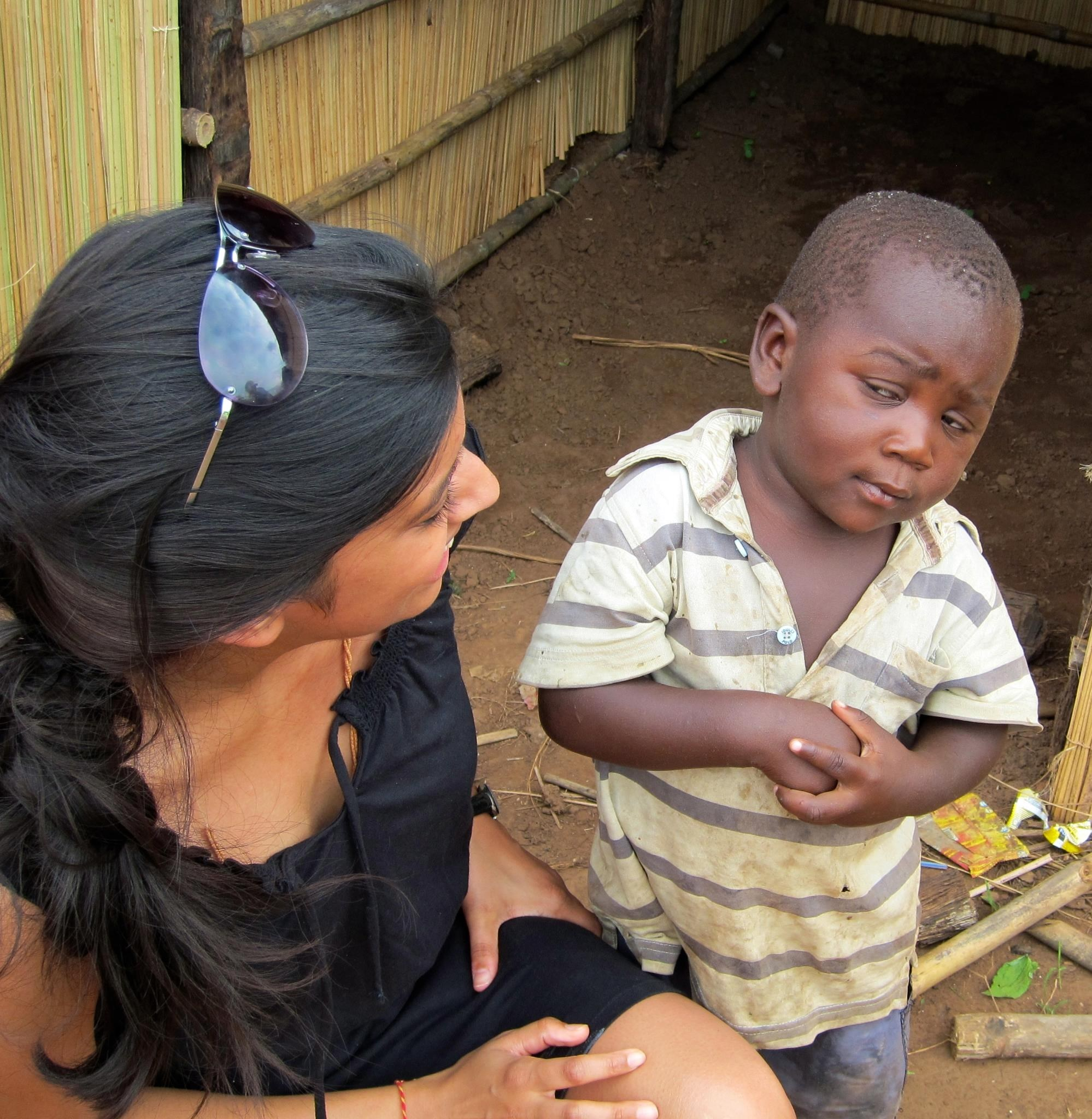 Skeptical African Child