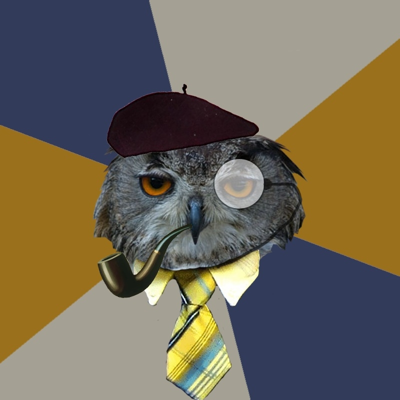 Art Professor Owl