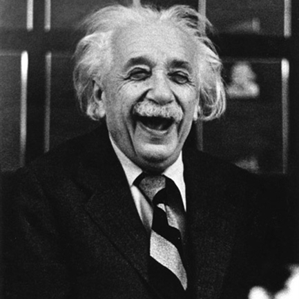 Laughing Einstein