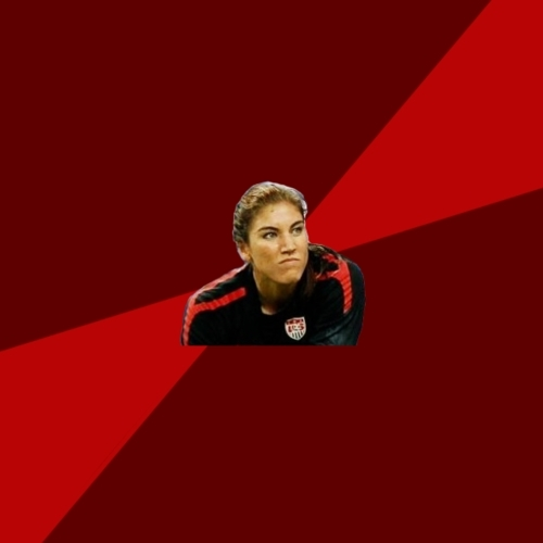 Angry Hope Solo