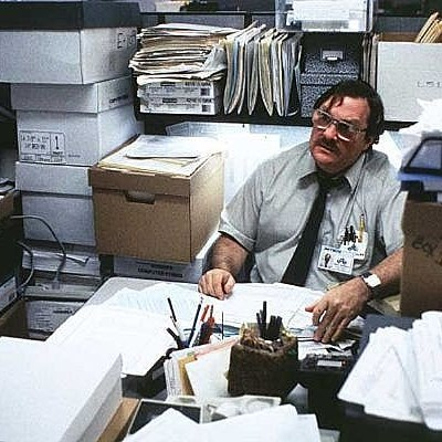 Milton office space basement meme generator for Office space basement