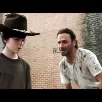 Rick Carl Walking Dead Meme Template 28345 Loadtve