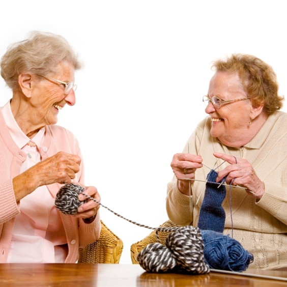 Old Lady Knitting Images : Old ladies knitting meme generator