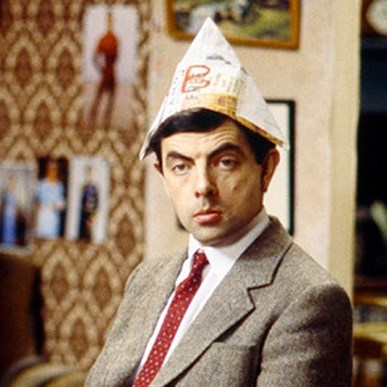 Mr Bean Christmas Hat