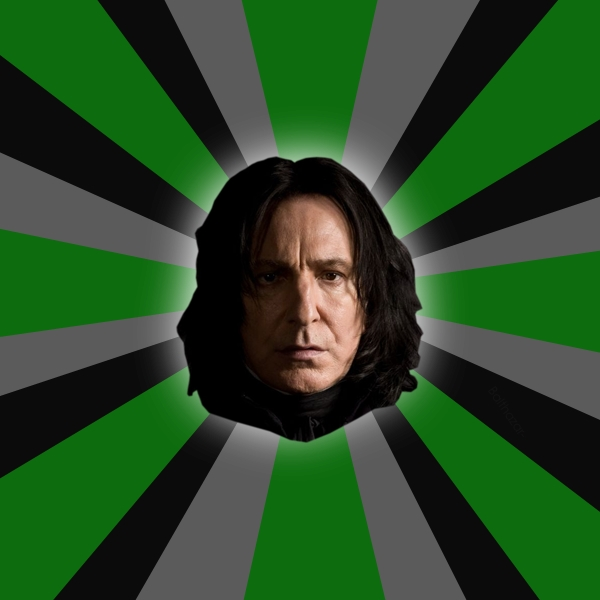 Serious Snape