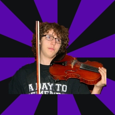 Smug Violin Kid