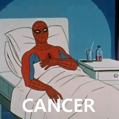 Cancer Spiderman