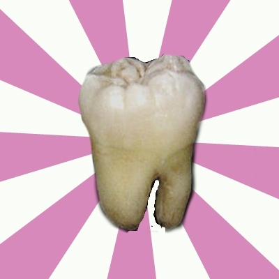 forced tooth