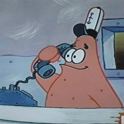 No this is Patrick Star