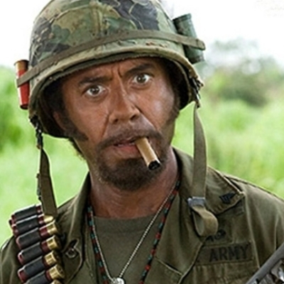Tropic Thunder Downey