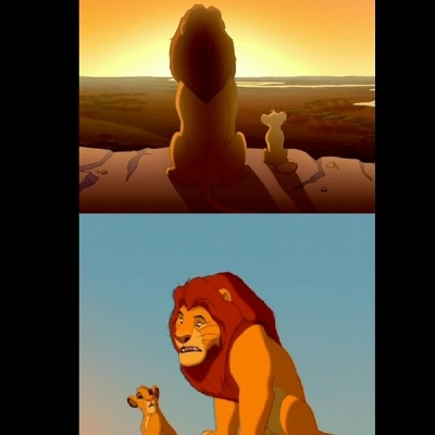 Lion King Shadowy Place