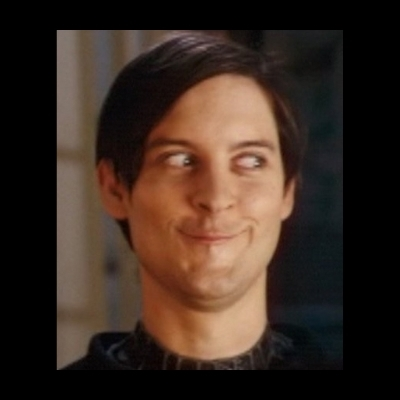 Toby Maguire trollface