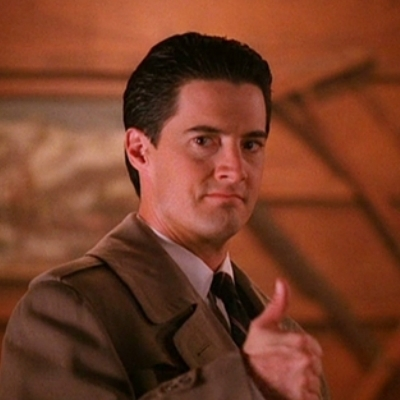 Thumbs-up Agent Dale Cooper