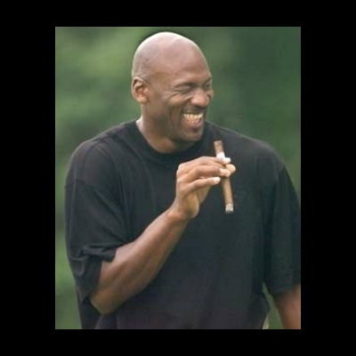 michael jordan laughing