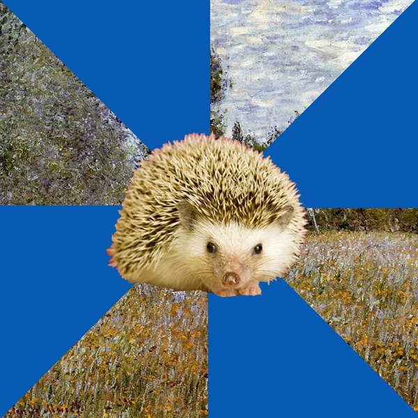 Art History Hedgehog