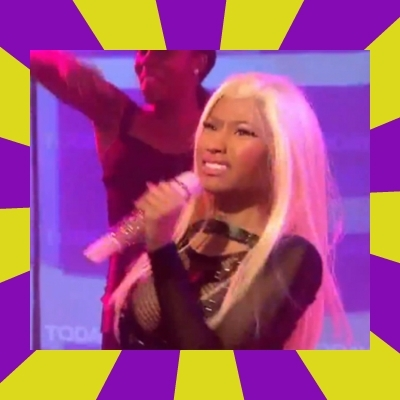 Nicki Minaj Constipation Face