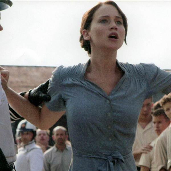 Katniss volunteers to stand up for equality