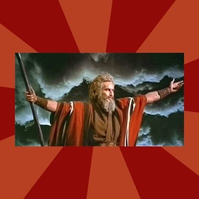 Then Moses said...
