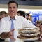 Romney with pies