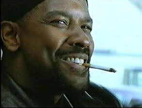 Denzel Washington Cigarette