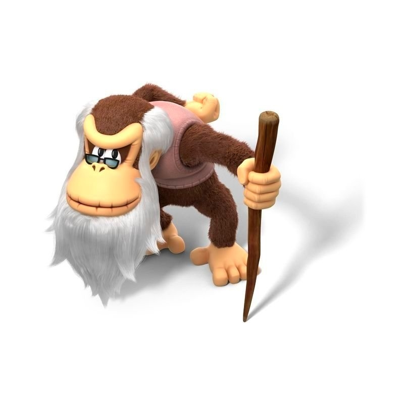 cranky kong tropical freeze wii u haha