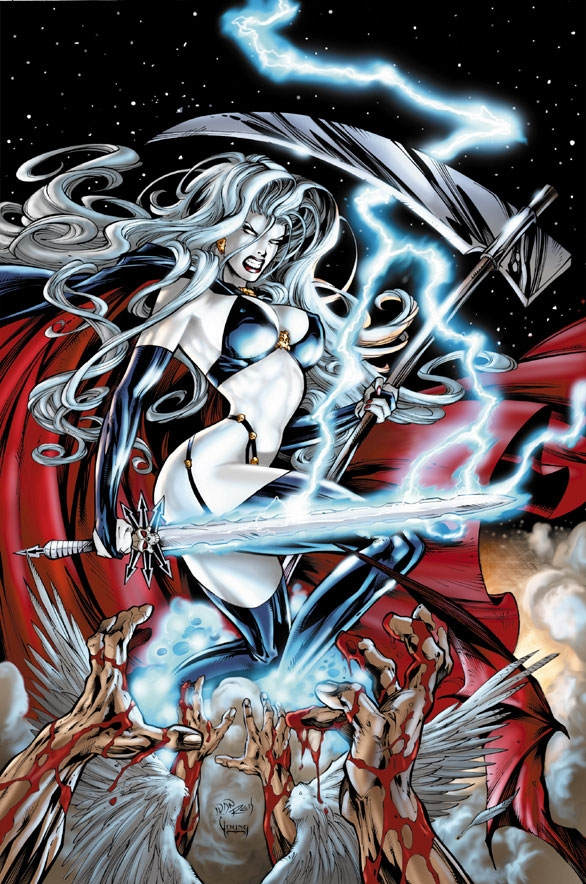 A awesome and sexy Lady Death 1