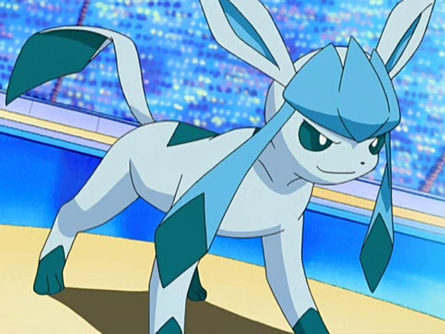 Go get'm glaceon