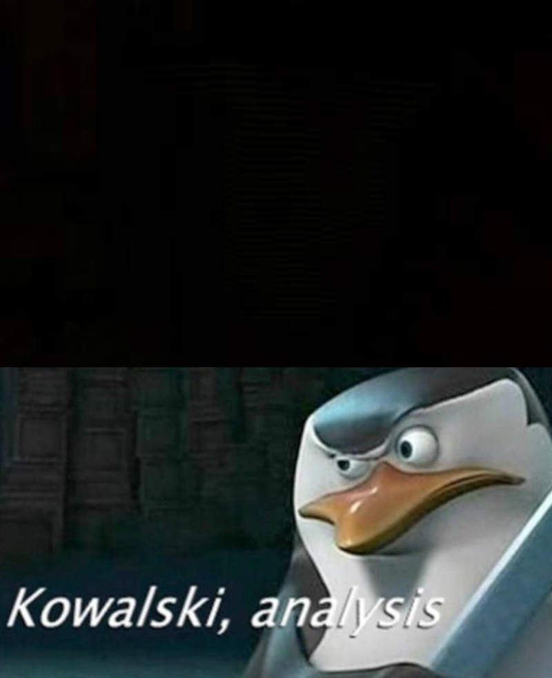 Kowalski, analysis