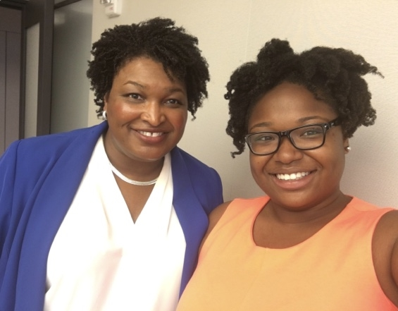 Congratulations Stacey Abrams! The 1st African-American Woman Governor!