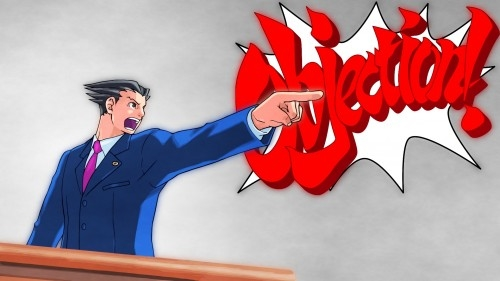 Ace Attorney Phoenix Wright Objection Meme Generator